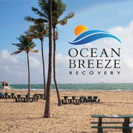 Ocean Breeze Recovery Logo