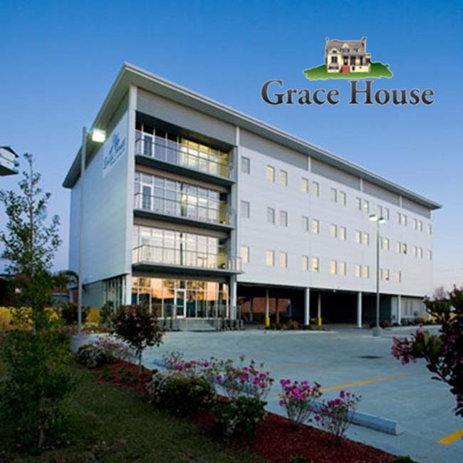 The Grace House - New Orleans, LA Logo
