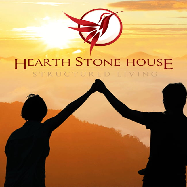 Hearth Stone House Structured Living Logo