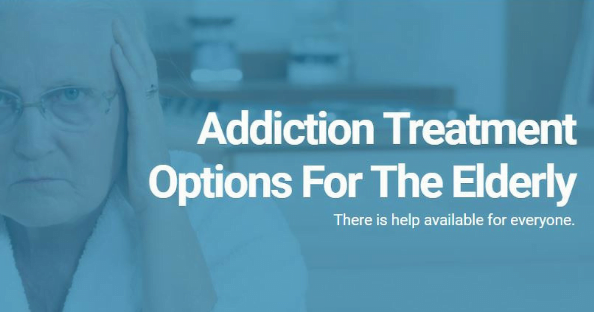 Addiction treatment options for elderly substance abuse