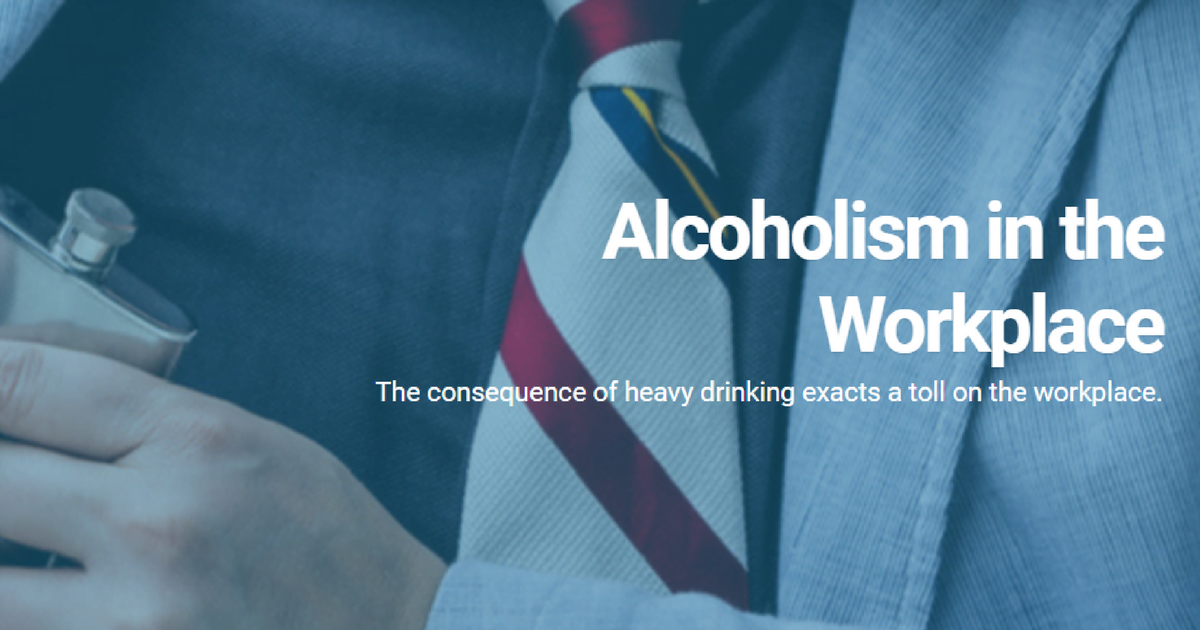 alcohol and the workplace Alcohol and the workplace drinking among us workers can threaten public safety, impair job performance, and result in costly medical, social, and other problems affecting employees and employers alike.