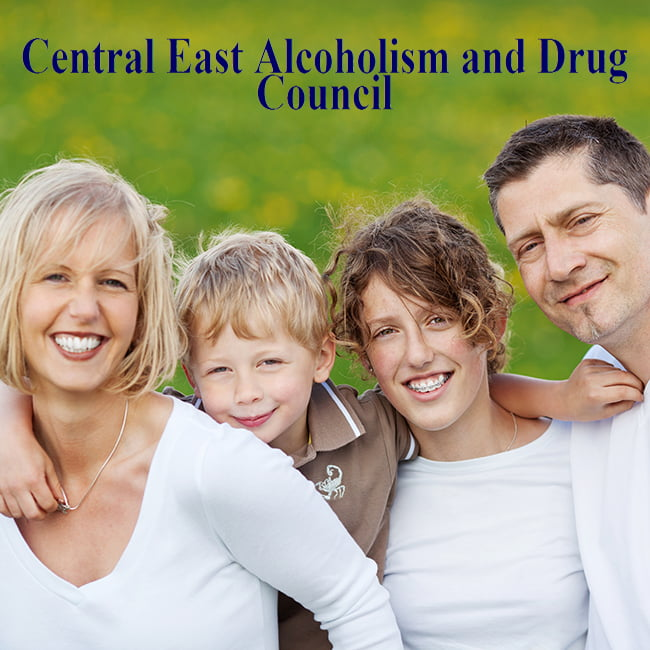 Central East Alcoholism and Drug Council Logo