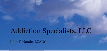Addiction Specialists LLC John F Natale LCADC Logo