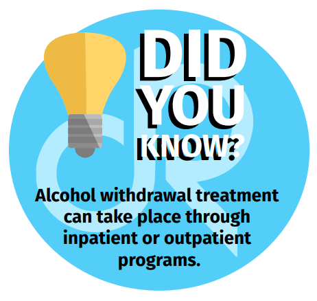 Inpatient or Outpatient Programs for Alcohol Withdrawals
