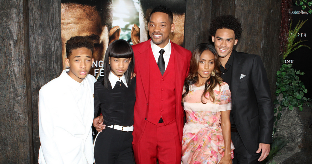 jada and will smith family