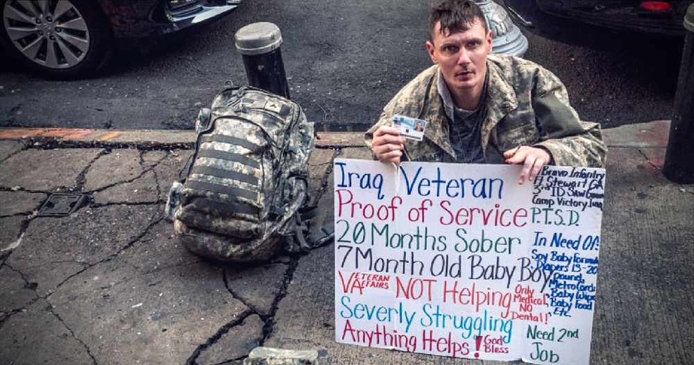 veteran addiction causes homelessness