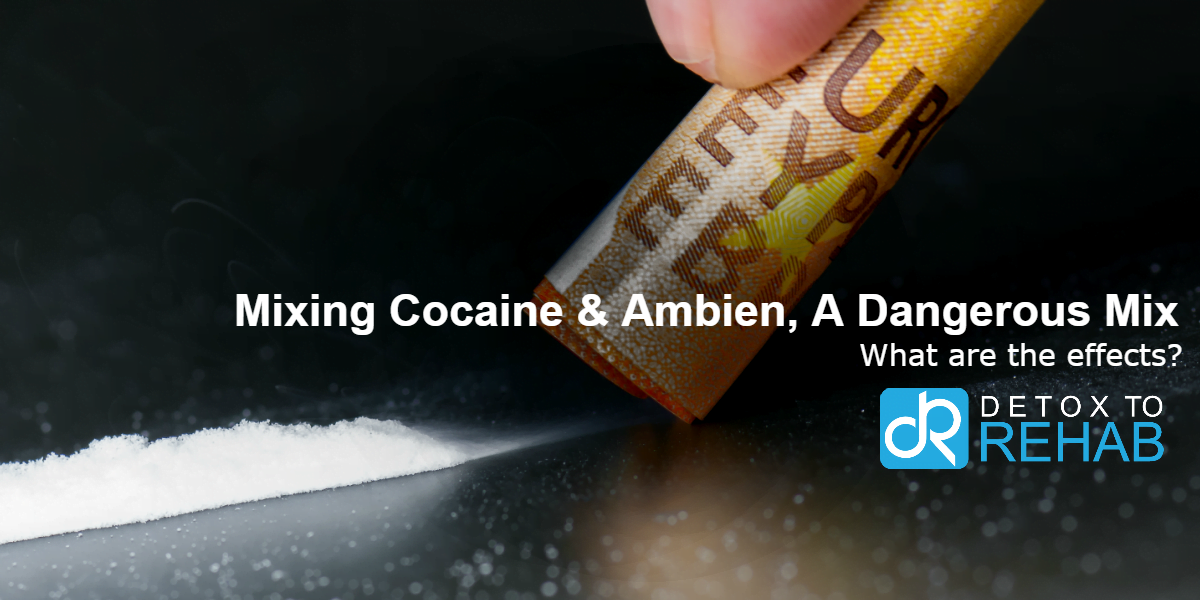 What Happens When You Mix Cocaine and Ambien - Detox To Rehab