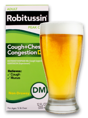 Robitussin with Beer
