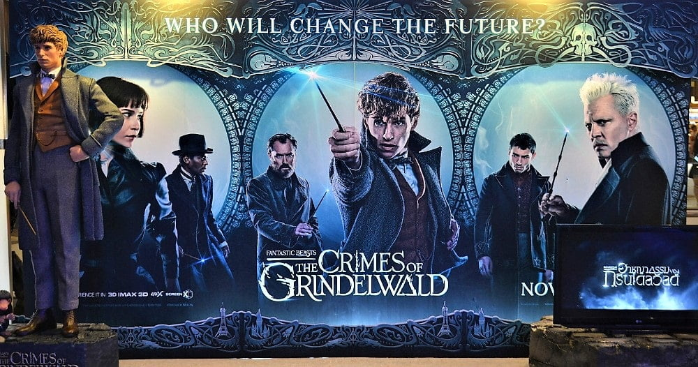 the crimes of grindelwald movie