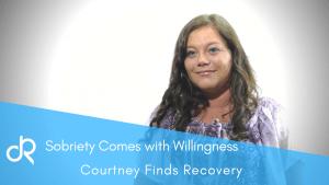 Courtneys true story of addiction