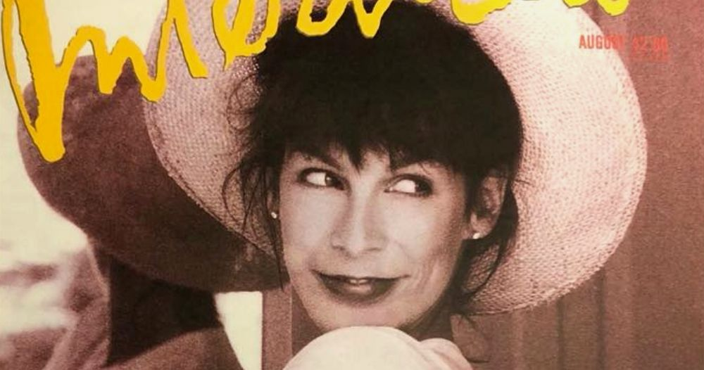 Jamie Lee Curtis Magazine Cover in 1989