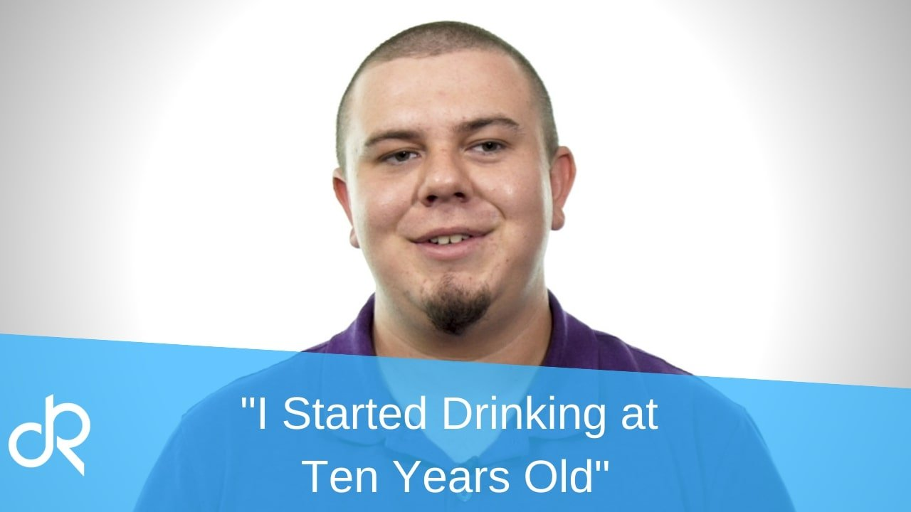 man shares his story of alcoholism that started at 10 years old