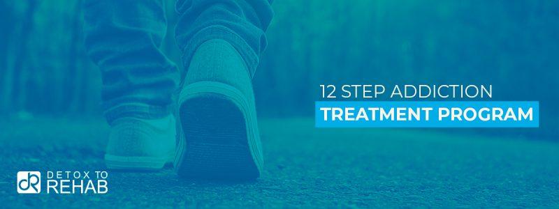 12 steps treatment program Header