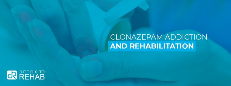 Clonazepam Addiction Rehabilitation Header
