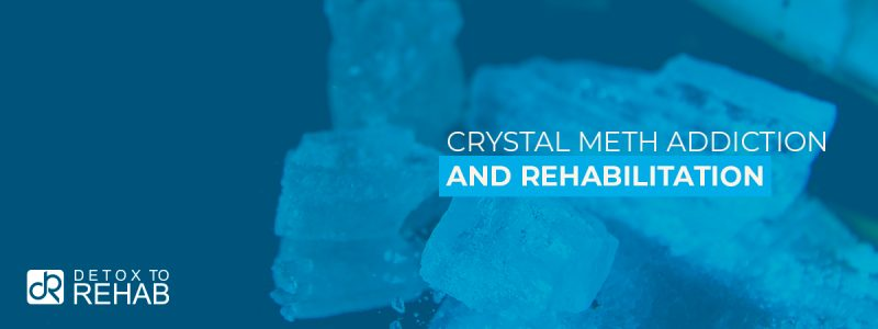 Crystal Meth Addiction Rehab Header