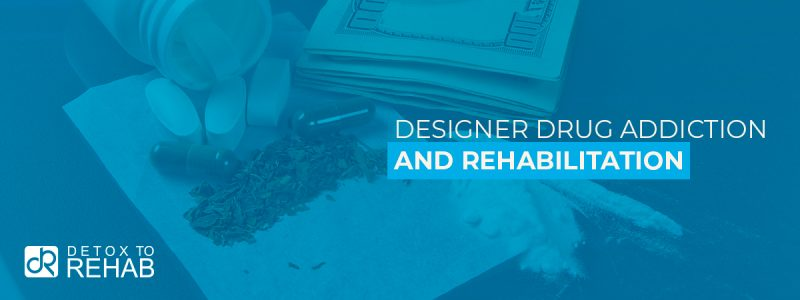 Designer Drug Addiction Rehab Header