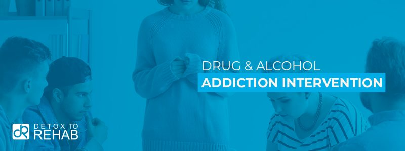 Addiction Intervention Header