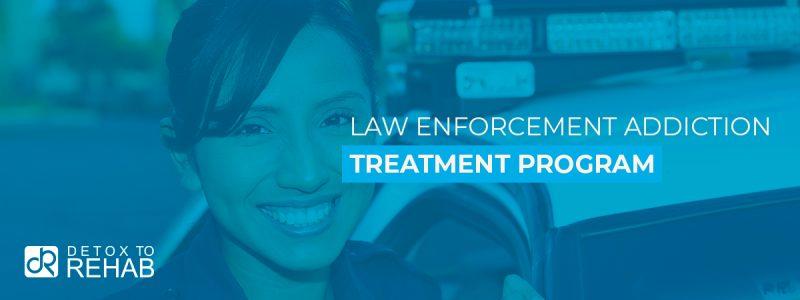Law Enforcement Addiction Treatment Program Header