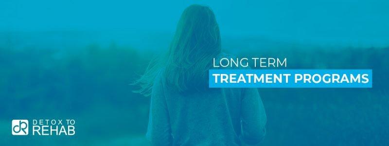 Long Term Treatment Programs Header