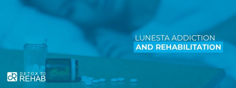 Lunesta Addiction Rehab Header