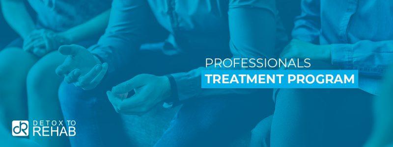 Professionals Treatment Program Header