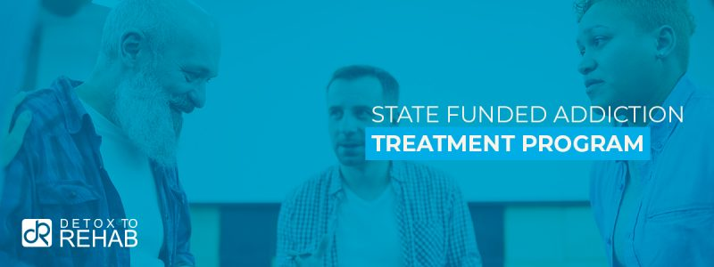 State Funded Addiction Treatment Header