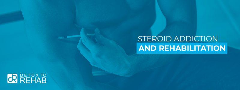 Steroid Addiction Rehab Header