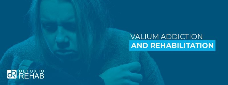Valium Addiction Rehab Header