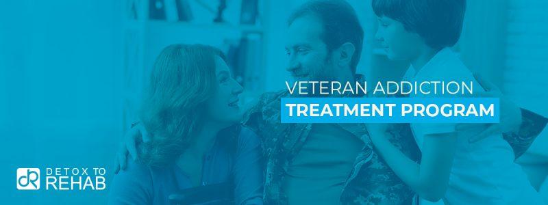 Veteran Addiction Treatment Program Header