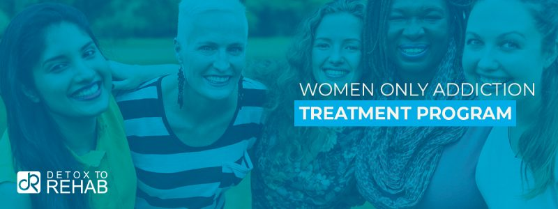 Women Only Addiction Treatment Header