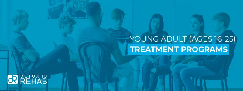 Young Adult Treatment Programs Header