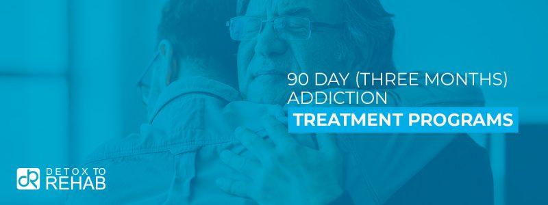 90 Day Addiction Treatment Program Header