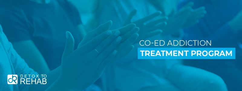 Co-Ed Addiction Treatment Program Header