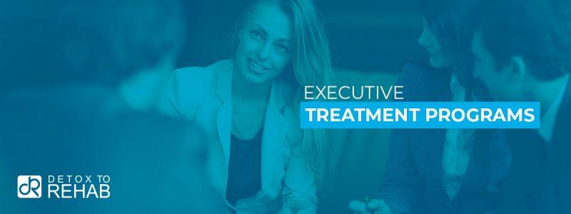 Executive Treatment Programs Header