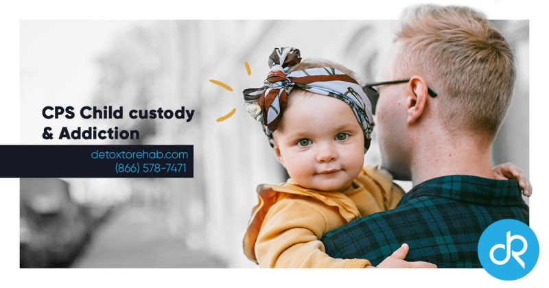 CPS child custody and addiction header image