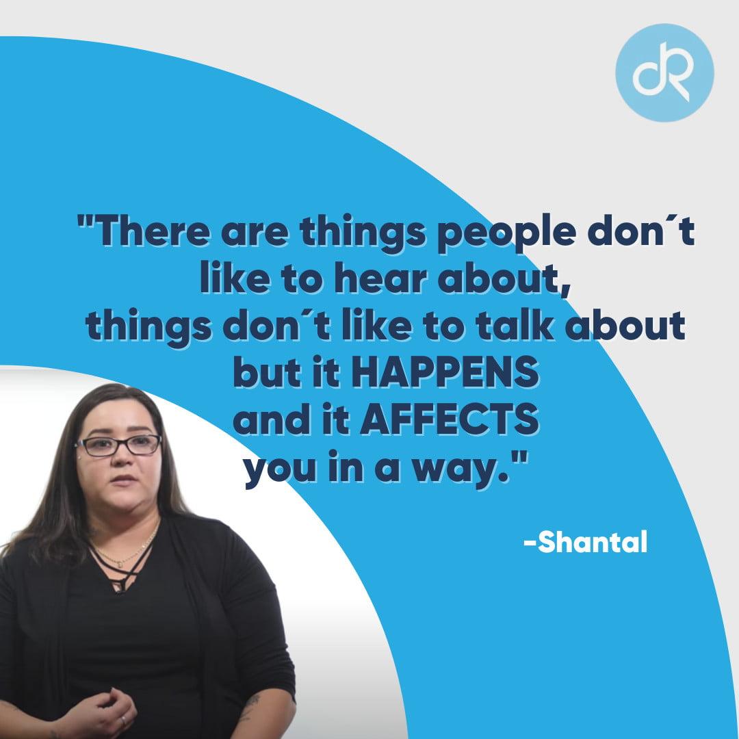 Shantal Quote