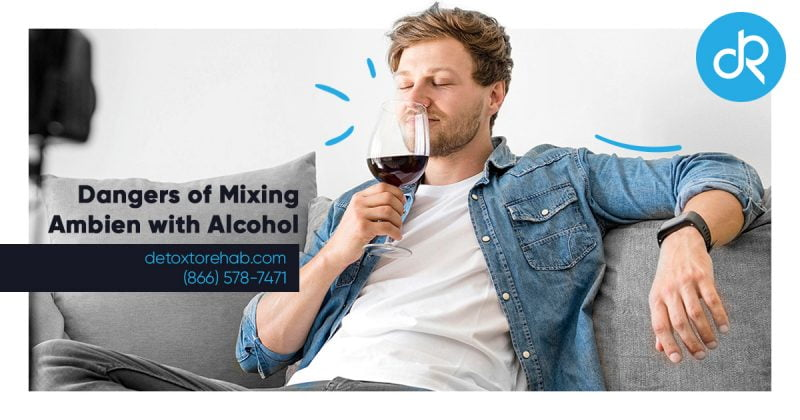dangers of mixing ambien alcohol header image