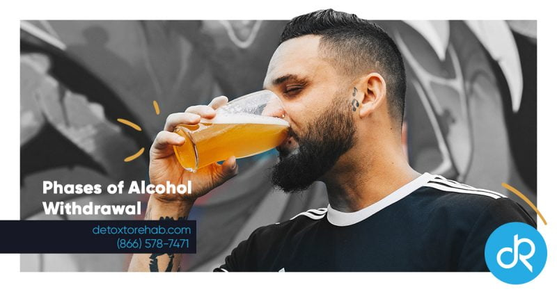 phases of alcohol withdrawal header image