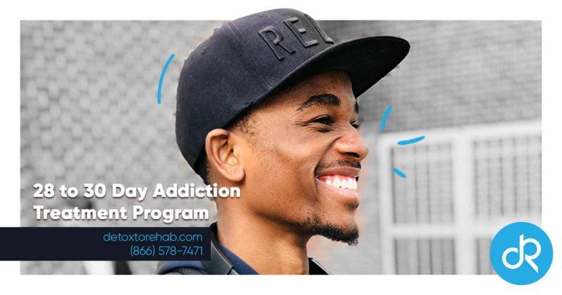 28 or 30 day Addiction Treatment Programs Header Image