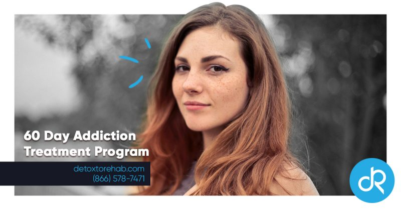 60 Days Addiction Treatment Program Header Image