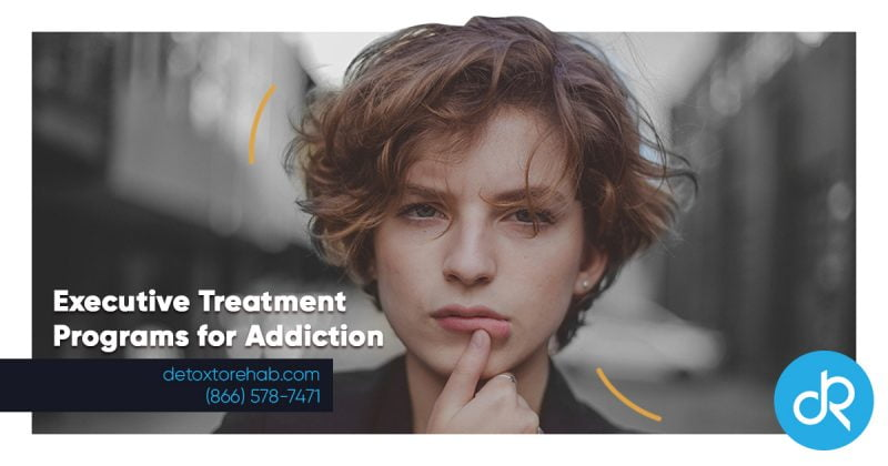 Executive Treatment Programs For Addiction Header Image