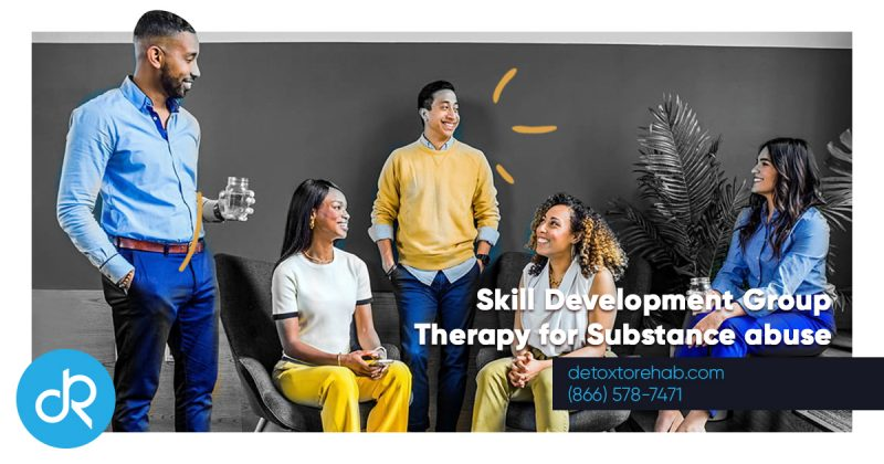 Skill Development Group Therapy Header Image