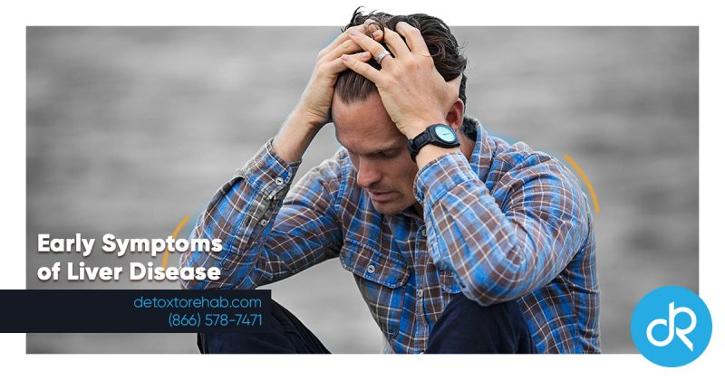 early symptoms of liver disease header image