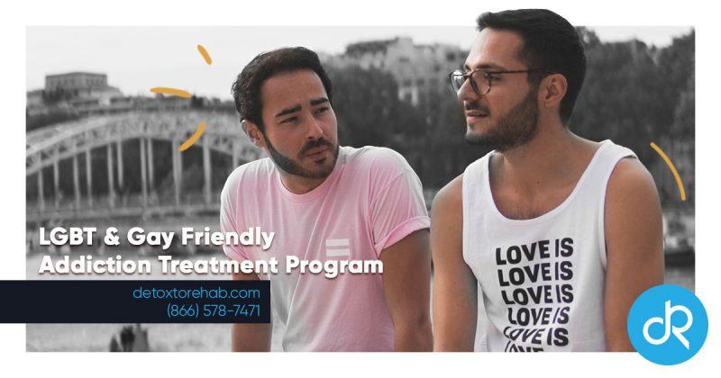 lgbt and gay addiction treatment header image