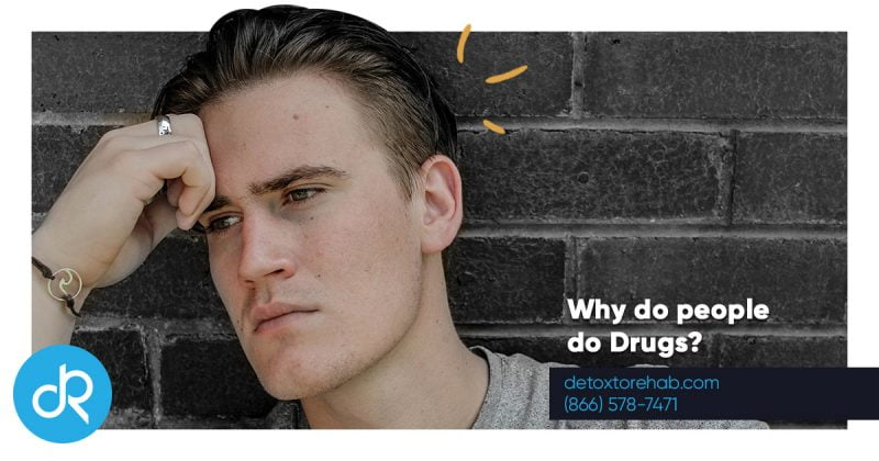 why do people do drugs header image