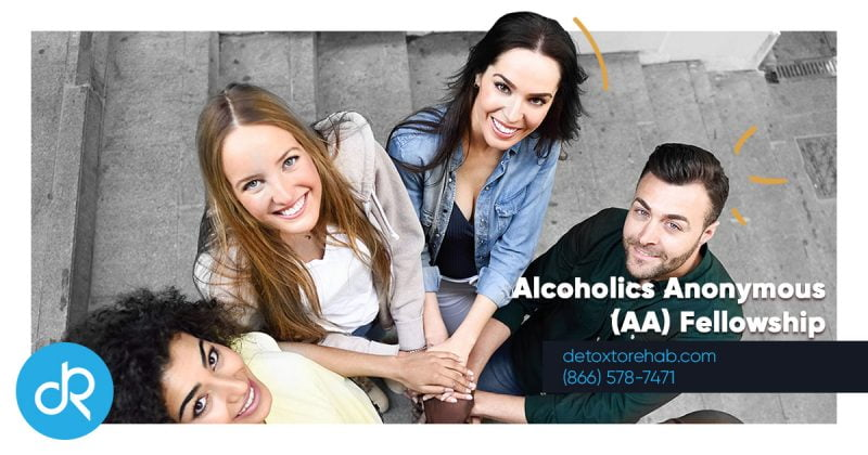 Alcoholics Anonymous (AA) Fellowship Header Image