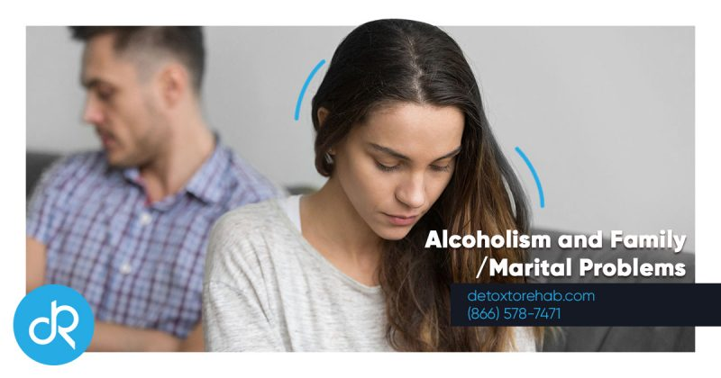 Alcoholism and Family Marital Problems Header Image