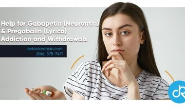 Gabapentin Lyrica Addiction and Withdrawals header image