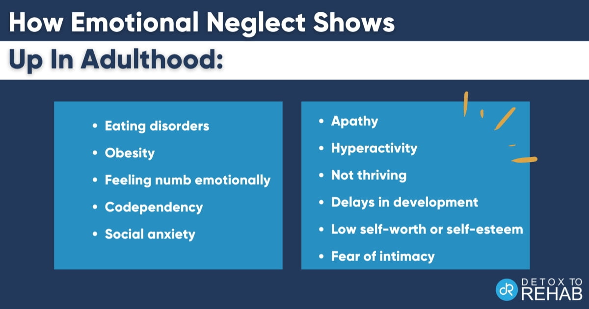 How Emotional Neglect-Shows Up In Adulthood