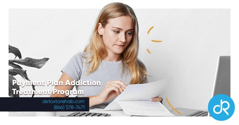 Payment Plan Addiction Treatment Program Header Image
